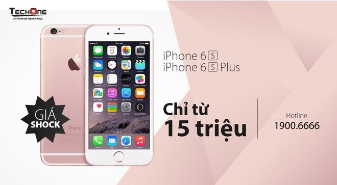 iPhone 6S bat ngo ha gia con hon 15 trieu dong hinh anh 5 Khách hàng check giá sản phẩm theo màu sắc và dung lượng tại đây.( http://www.techone.vn/iphone-6s/)