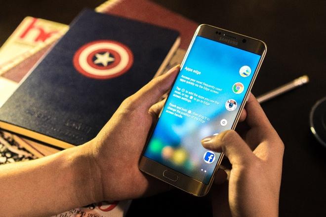 5 yeu to giup Galaxy S6 edge+ duoc long nguoi dung tre hinh anh 2 Camera chất lượng cao là một trong những ưu điểm của model màn hình cong mới từ Samsung.