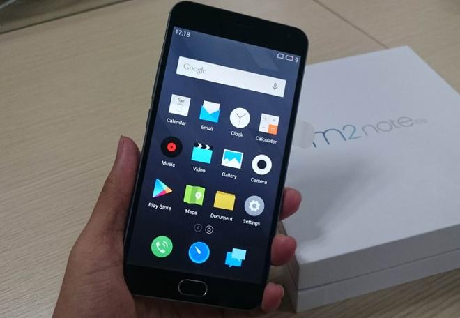 Meizu M2 Note: Smartphone chip 64-bit tam gia 4 trieu dong hinh anh