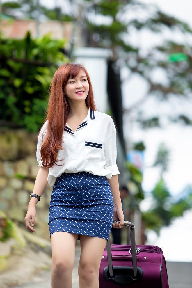 Dinh Huong khong ngai bi 'nem da' khi tung MV nhac phim moi hinh anh 3 Nhã Phương và Quang Tuấn hỗ trợ Đinh Hương khá nhiều trong diễn xuất.