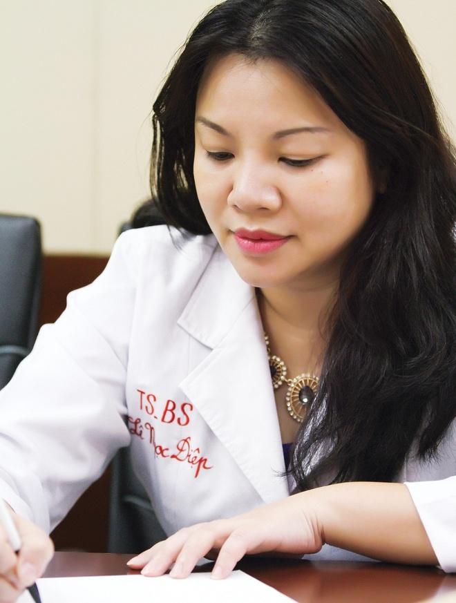 Meo nho giup ban gai tri mun boc, mun trung ca sung do hinh anh 1 Tiến sĩ - Bác sĩ Lê Ngọc Diệp - Bệnh Viện ĐH Y Dược Tp.HCM