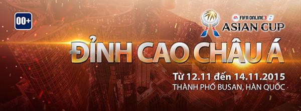 FIFA Online 3 Viet Nam gap Han Quoc B tai 'Asian Cup 2015' hinh anh 2