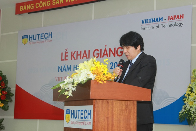 Khai giang chuong trinh dai hoc chuan Nhat tai Viet Nam hinh anh