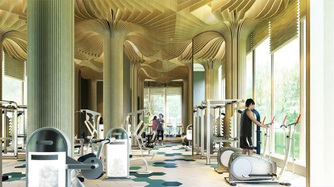 Seasons Avenue ho tro khach hang voi tien do thanh toan mong hinh anh 3 Phòng tập gym hiện đại