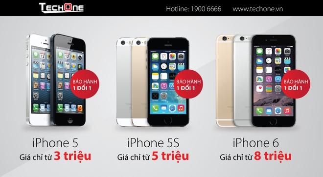 iPhone 5/5S, iPhone 6 ha gia gan 2 trieu dong hut khach hinh anh 4