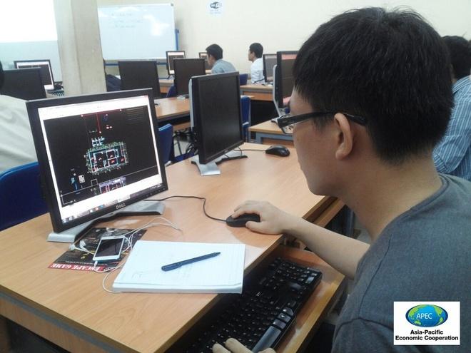 APEC tai tro hoc phi khoa Auto CAD va Sketchup cho ban tre hinh anh 1