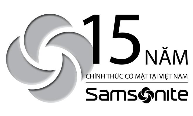 15 nam chinh thuc co mat o Viet Nam, Samsonite giam gia 50% hinh anh 1