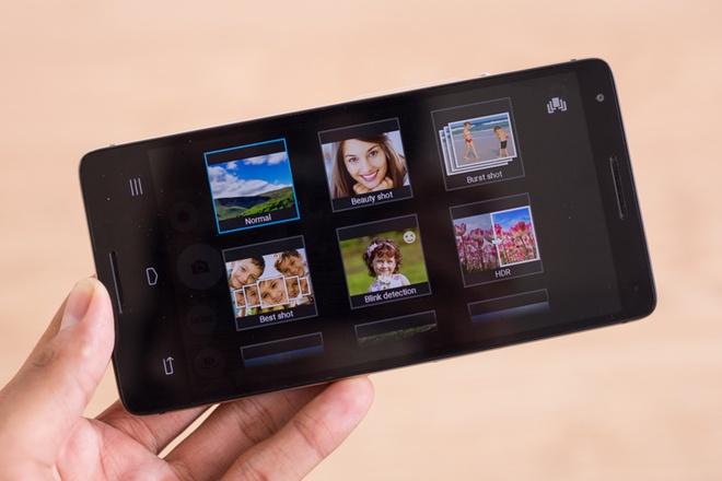 InFocus M810: Smartphone chinh hang gia re, cau hinh manh hinh anh