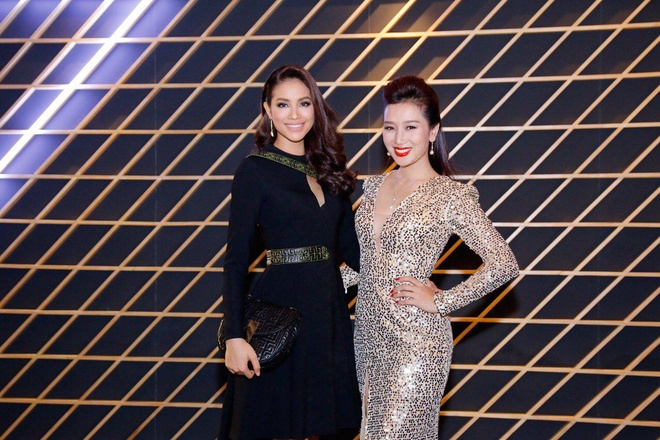 Pham Huong sanh dieu voi Versace hinh anh 5