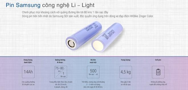 HKbike hop tac lam pin xe dien Samsung SDI tai Viet Nam hinh anh
