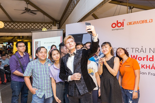 Smartphone My OBI SF1 gay an tuong voi nguoi dung Viet hinh anh 1