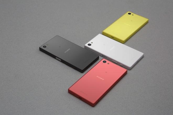 Sony Xperia Z5 Compact ra mat phien ban mau vang va hong hinh anh 1