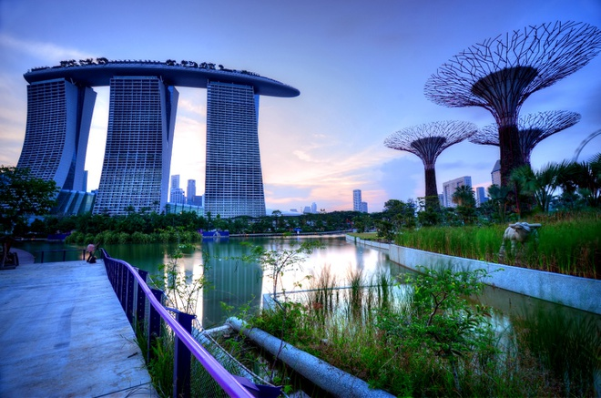 Singapore tuoi dep va than thien trong mat du khach Viet hinh anh