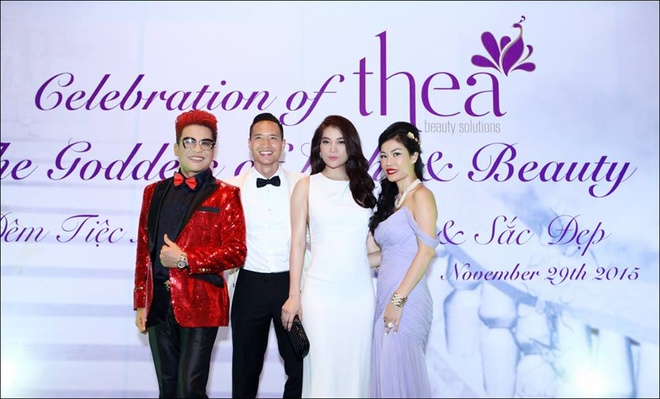 Dan sao Viet hoi ngo tai buoi ra mat Thea Beauty Solutions hinh anh 4