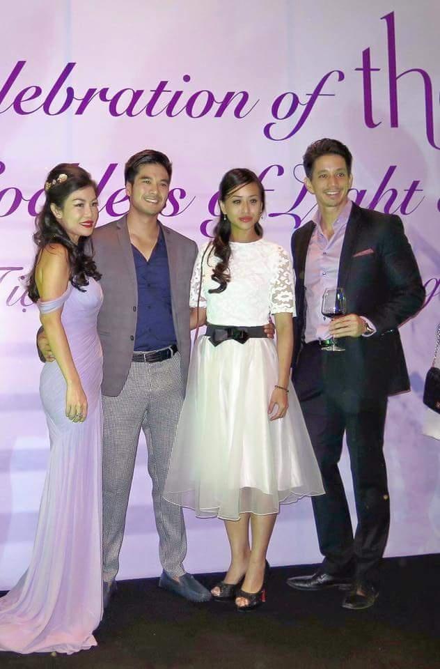 Dan sao Viet hoi ngo tai buoi ra mat Thea Beauty Solutions hinh anh 6 Vóc dáng thon gọn của chuyên gia sắc đẹp khiến nhiều người ngưỡng mộ