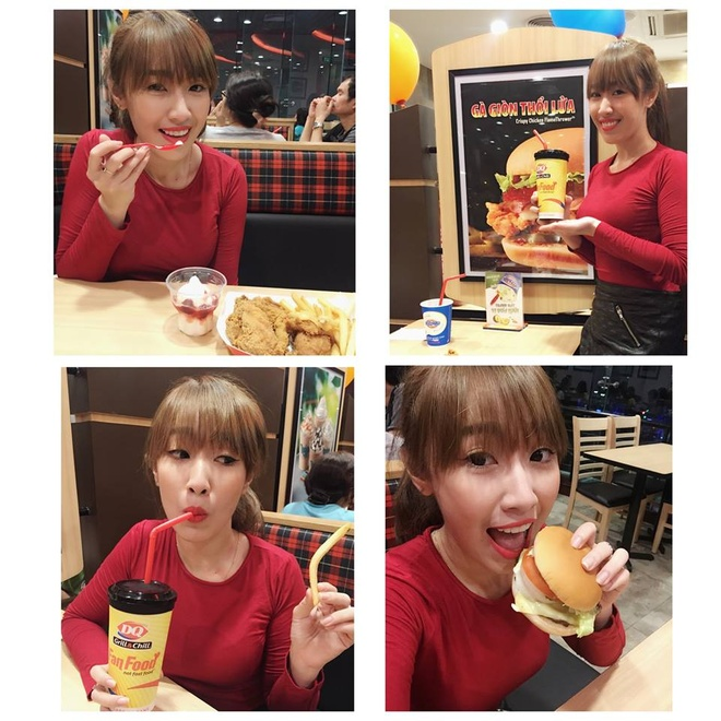 Ly do DQ Grill & Chill hap dan thuc khach khap the gioi hinh anh 1 Một fan xinh đẹp nồng nhiệt chào đón DQ Grill & Chill tại Việt Nam