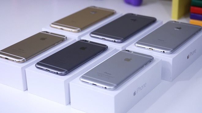 iPhone 6/6 Plus FPT ha gia 40% con 12 trieu dong hut khach hinh anh 1 iPhone 6/6 Plus FPT TBH bán chạy vì mức giá hợp lý