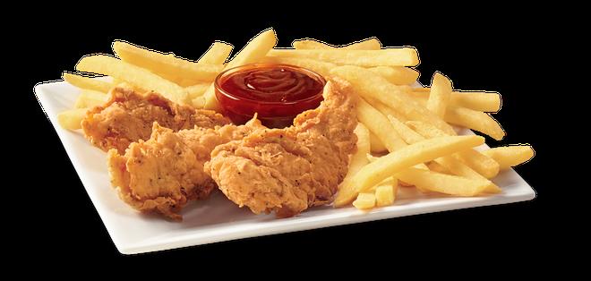 Ly do DQ Grill & Chill hap dan thuc khach khap the gioi hinh anh 3 Món Chicken Strips, gà không xương nổi tiếng tại Mỹ