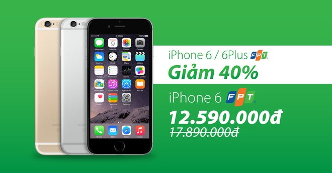 iPhone 6/6 Plus FPT ha gia 40% con 12 trieu dong hut khach hinh anh 3