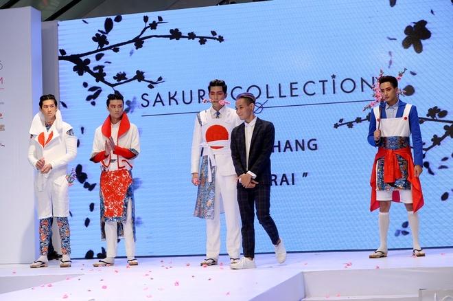 Sinh vien HUTECH dat giai nhat cuoc thi 'Sakura Collection' hinh anh 3