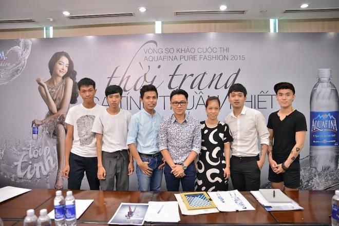 Cong Tri danh gia cao thi sinh 'Aquafina pure fashion 2015' hinh anh 1