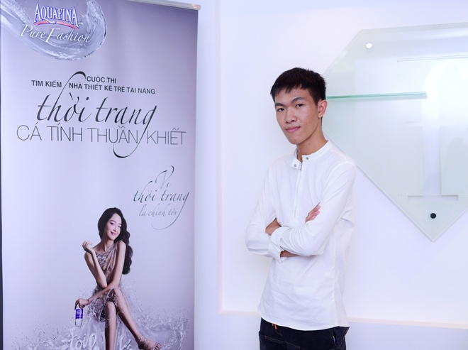 Cong Tri danh gia cao thi sinh 'Aquafina pure fashion 2015' hinh anh 3