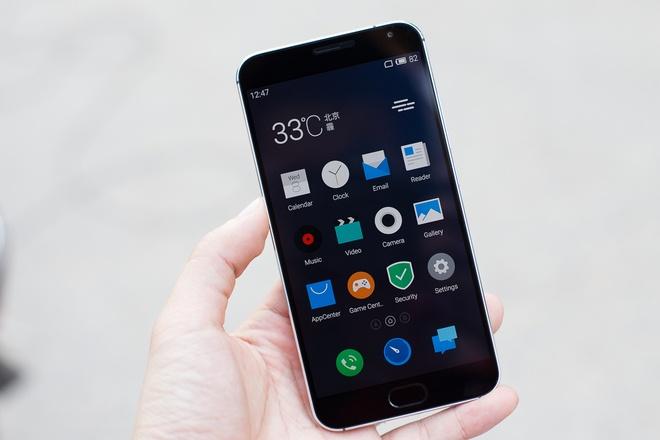 Meizu MX5 - smartphone tam trung bao mat bang van tay hinh anh