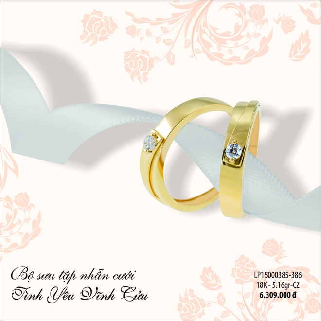 Mung khai truong, Loc Phuc Jewelry giam 10% trang suc vang hinh anh 3