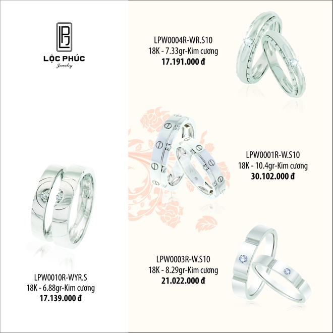 Mung khai truong, Loc Phuc Jewelry giam 10% trang suc vang hinh anh 5