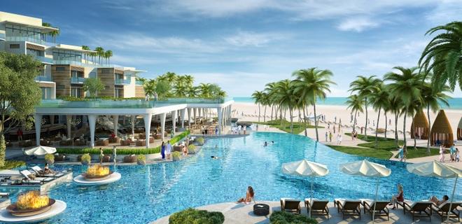 Sun Group ra mat Premier Residences Phu Quoc Emerald Bay hinh anh