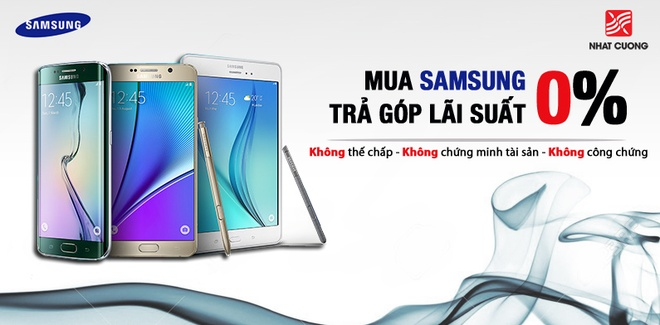 Nhat Cuong Mobile giam gia 30% smartphone Samsung hinh anh 2
