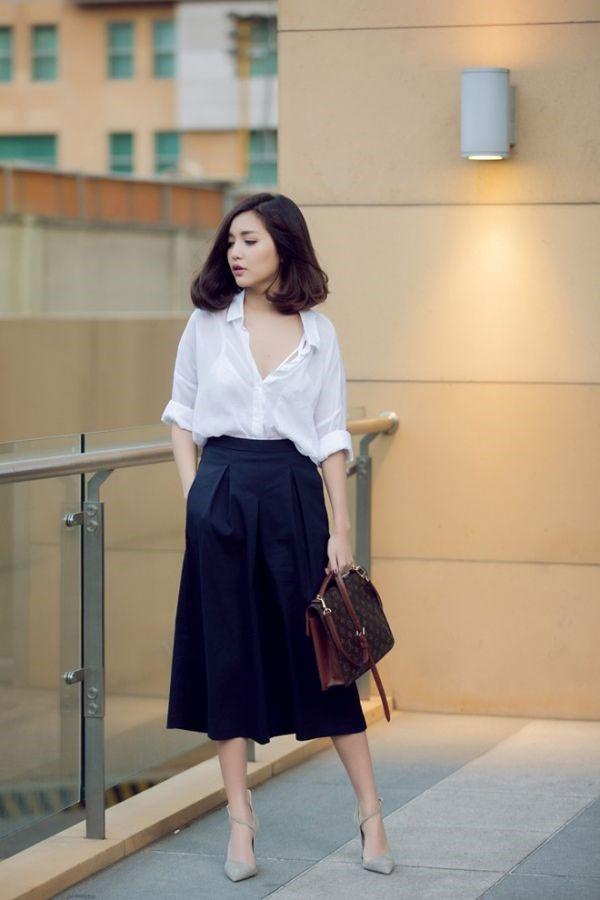Bi quyet tao gu thoi trang nu tinh cua Bich Phuong hinh anh 4 Bích Phương không quá coi trọng đồ hiệu. Quần áo cô mặc đều là sản phẩm bình dân mà mọi người có thể mua ở bất kỳ cửa hàng nào.