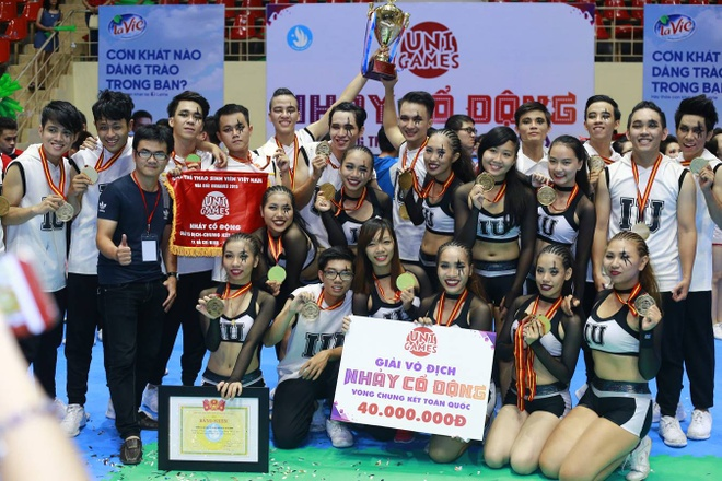 Khoi My chay het minh cung 2.000 sinh vien tai UniGames 2015 hinh anh 4