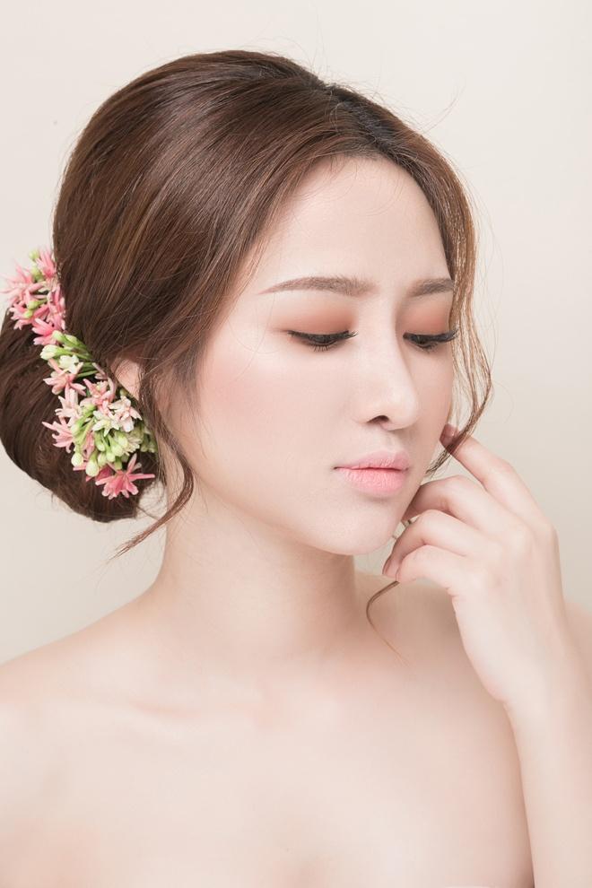 Khai Thien tu van xu huong trang diem tu nhien cho co dau hinh anh 8