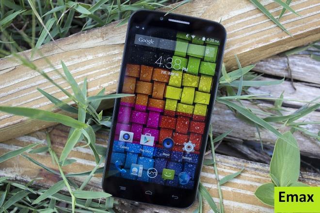 Emax - smartphone dung luong pin lon, cau hinh tot hinh anh