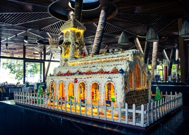 Don Giang sinh va nam moi tai Amiana Resort Nha Trang hinh anh 2 hình nhà gừng ở Bacaro