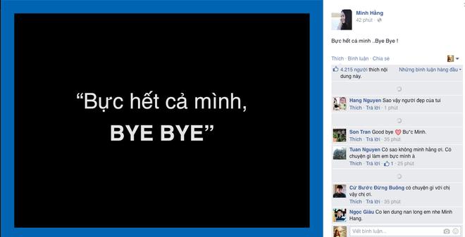 Nhieu sao Viet dong loat noi loi tam biet tren Facebook hinh anh 3