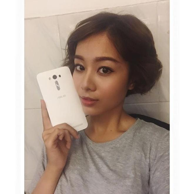 Lily Luta, Linh Le dong loat khoe ZenFone Laser moi sam hinh anh 2