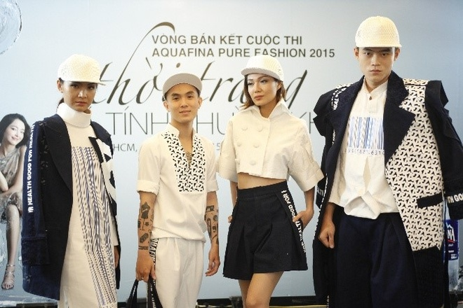 Lo dien top 5 Aquafina Pure Fashion 2015 hinh anh 5