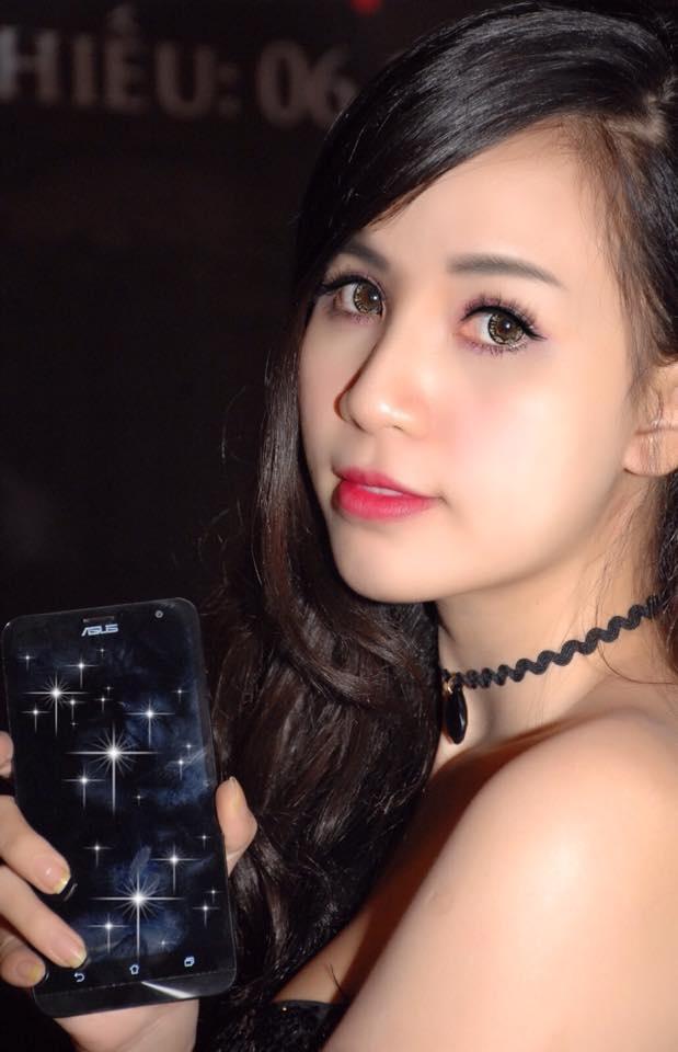 Lily Luta, Linh Le dong loat khoe ZenFone Laser moi sam hinh anh 6