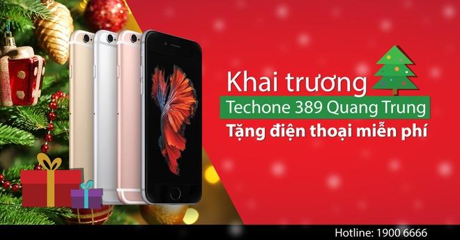 TechOne Quang Trung TP HCM tang smartphone dip khai truong hinh anh