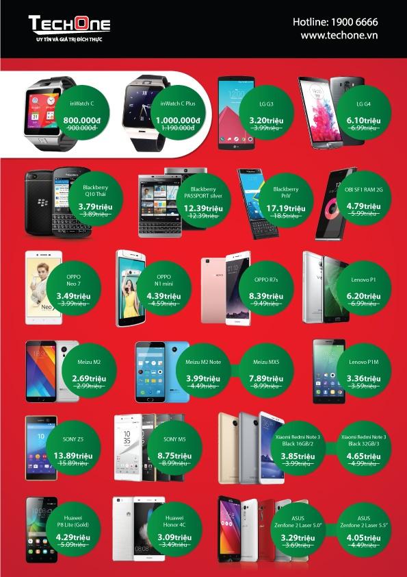 TechOne Quang Trung TP HCM tang smartphone dip khai truong hinh anh 4