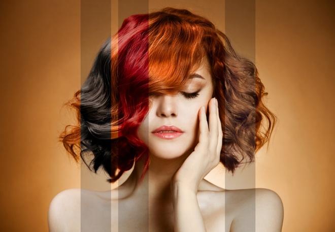 Nếu biết cách, bạn có thể tự nhuộm tóc đẹp như làm ở salon.