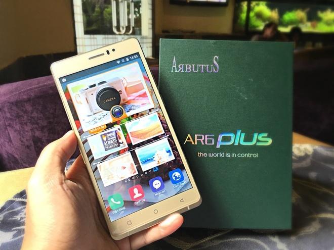 Arbutus AR6 Plus: Smartphone cong nghe Nhat, gia binh dan hinh anh 1