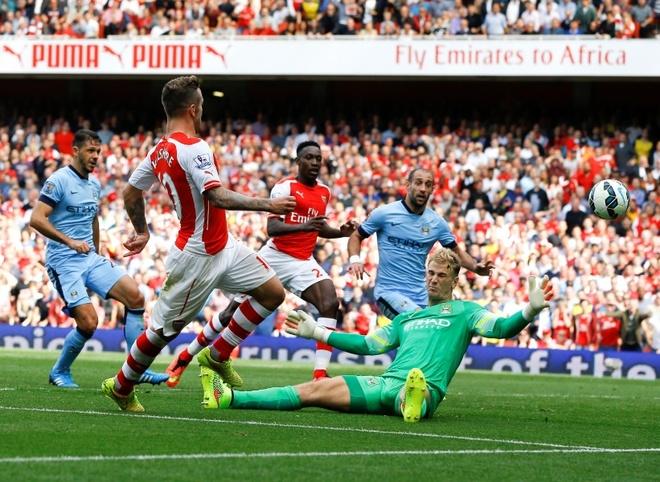 Dai chien Arsenal - Manchester City: Qua Noel som cho fan hinh anh 1