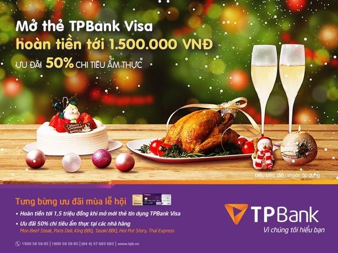 Cac chuong trinh khuyen mai hap dan cua TPBank dip cuoi nam hinh anh 1