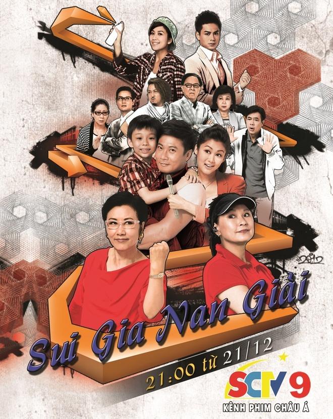 'Sui gia nan giai' - phim tinh cam gia dinh len song SCTV9 hinh anh 1