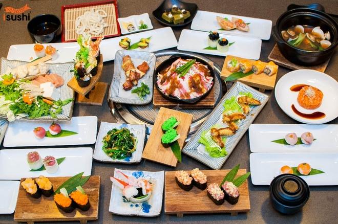 Thuong thuc buffet Nhat Ban ngon dung dieu tai Sai Gon hinh anh