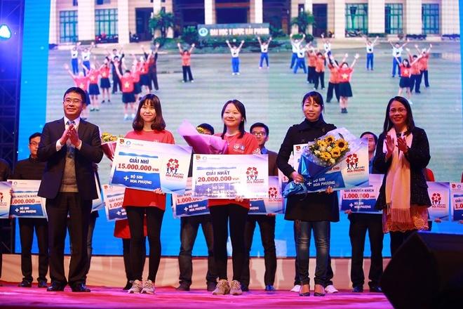 Gioi tre bung no trong dem gala 'Toi yeu Hai Phong' hinh anh 2 Chân dung đội thắng cuộc