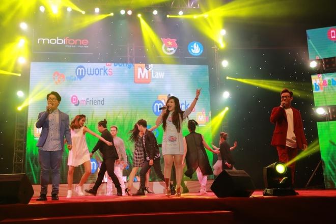 Gioi tre bung no trong dem gala 'Toi yeu Hai Phong' hinh anh 6 Các nghệ sĩ tham gia trong đêm Gala Tôi yêu Hải Phòng